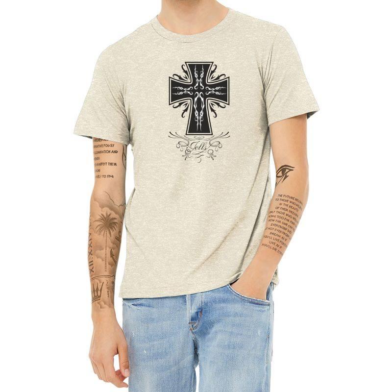 The Cross Heather T-shirt | Artistshot