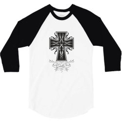 The cross 3/4 Sleeve Shirt | Artistshot