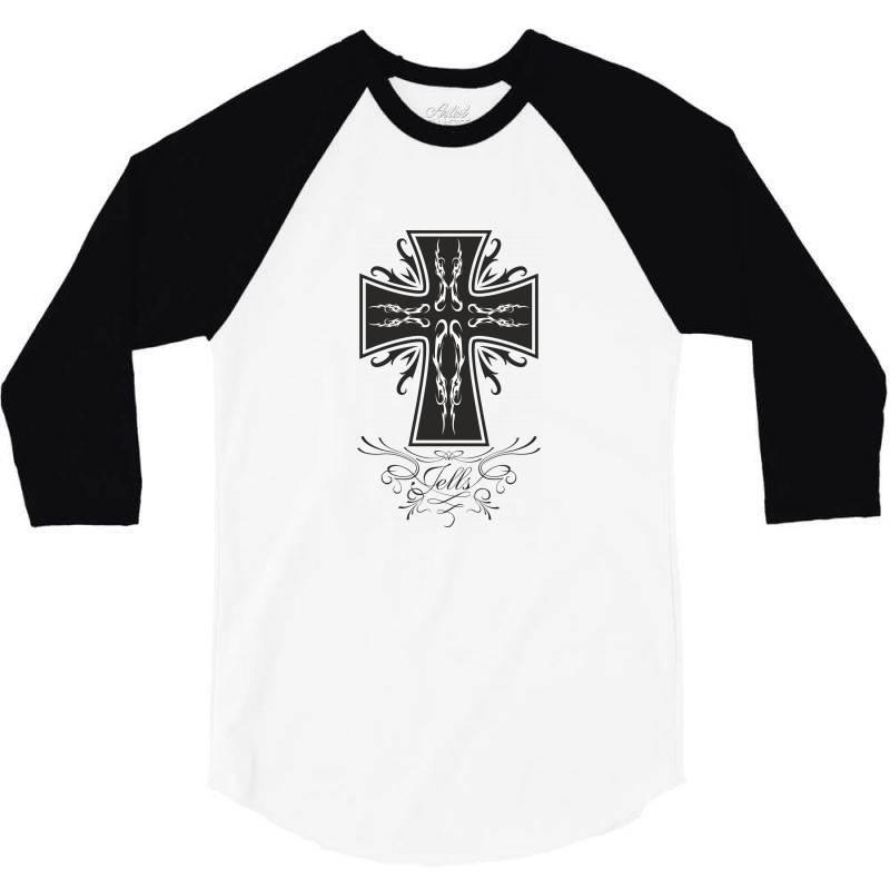 The Cross 3/4 Sleeve Shirt | Artistshot