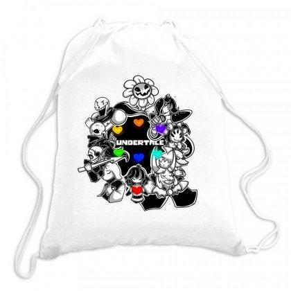 Undertale Flowey Drawstring Bags Designed By Starlight