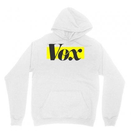 Vox Logo Unisex Hoodie Designed By Starlight