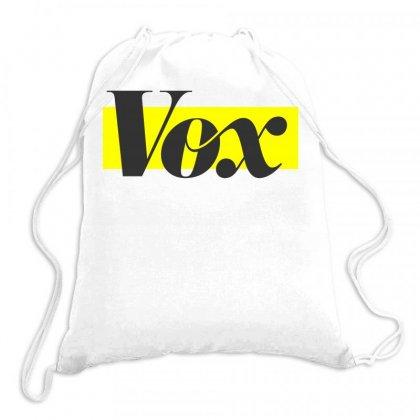 Vox Logo Drawstring Bags Designed By Starlight