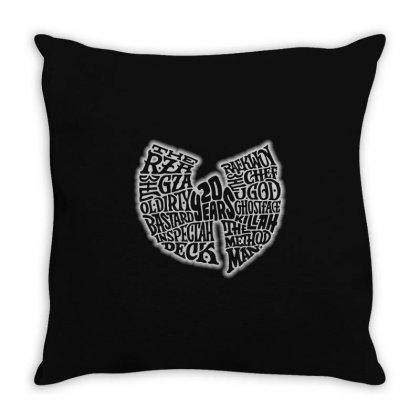 Wutang Throw Pillow Designed By Starlight