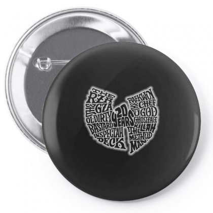 Wutang Pin-back Button Designed By Starlight