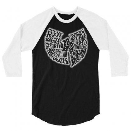 Wutang 3/4 Sleeve Shirt Designed By Starlight