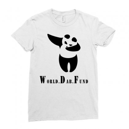 World Dab Fund Ladies Fitted T-shirt Designed By Starlight