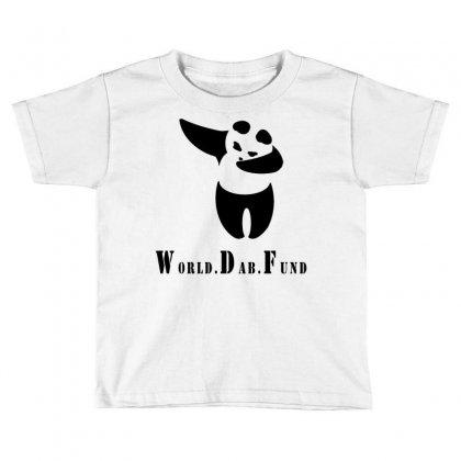 World Dab Fund Toddler T-shirt Designed By Starlight