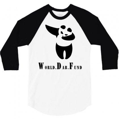 World Dab Fund 3/4 Sleeve Shirt Designed By Starlight