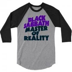 black sabbath master of reality 3/4 Sleeve Shirt | Artistshot