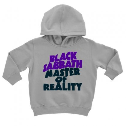 Black Sabbath Master Of Reality Toddler Hoodie Designed By Moon99