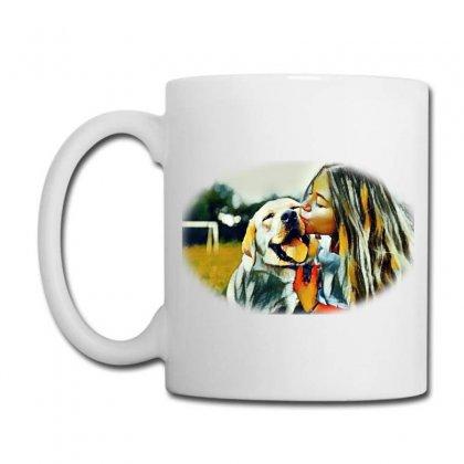 Frame With A Beautiful Girl Wpark On Green Gr Coffee Mug Designed By Kemnabi