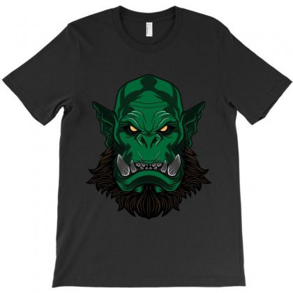 Orc Head T-shirt Designed By Ak Graphic Designs