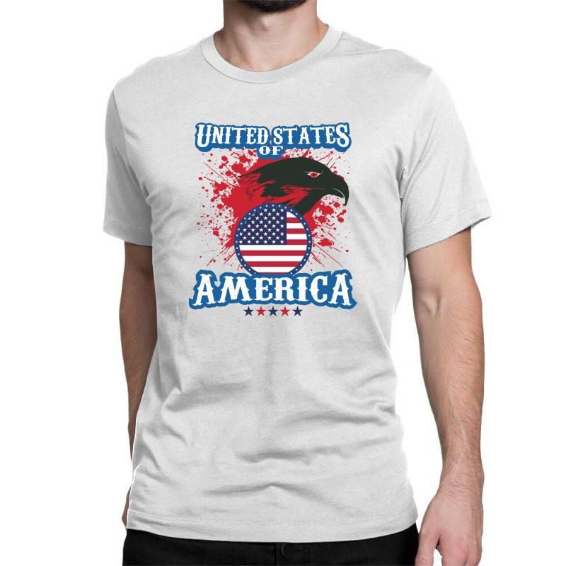 United States Of America Classic T-shirt   Artistshot