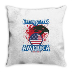 United States of America Throw Pillow | Artistshot