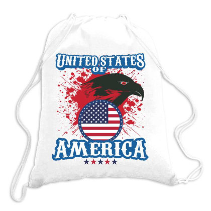 United States Of America Drawstring Bags Designed By Estore