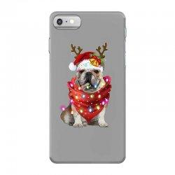 bulldog christmas iPhone 7 Case | Artistshot