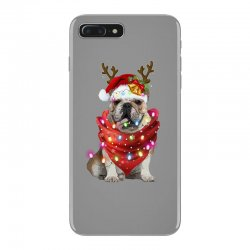 bulldog christmas iPhone 7 Plus Case | Artistshot