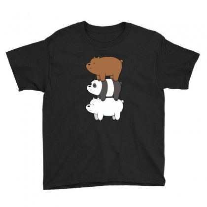 We Bare Bears Youth Tee Designed By Rakuzan