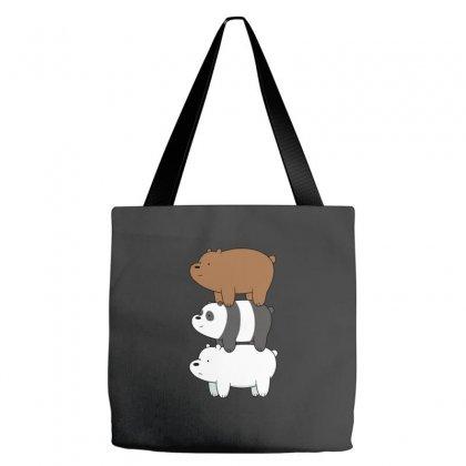 We Bare Bears Tote Bags Designed By Rakuzan