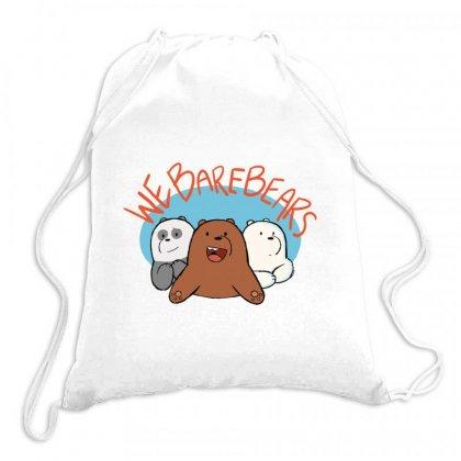We Bare Bears Drawstring Bags Designed By Rakuzan