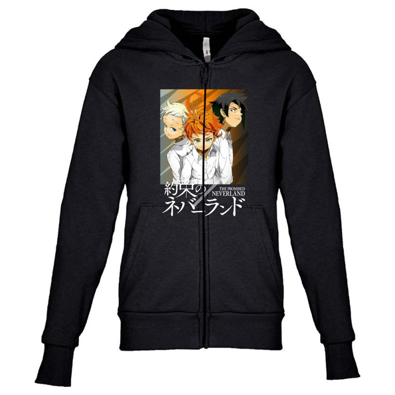 The Promised Neverland Youth Zipper Hoodie | Artistshot
