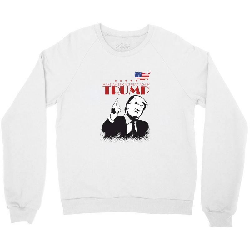 Make America Great Again Trump Crewneck Sweatshirt | Artistshot