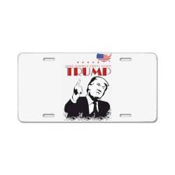 Make america great again Trump License Plate | Artistshot