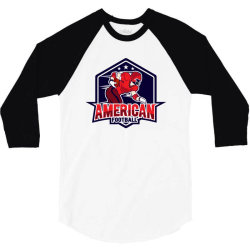 American football 3/4 Sleeve Shirt | Artistshot