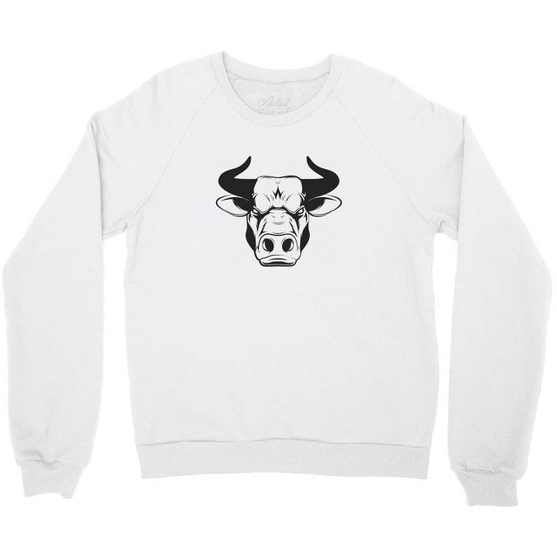 The Bull Crewneck Sweatshirt   Artistshot