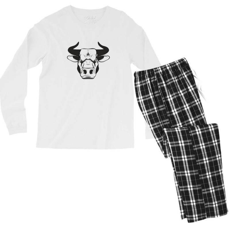 The Bull Men's Long Sleeve Pajama Set | Artistshot