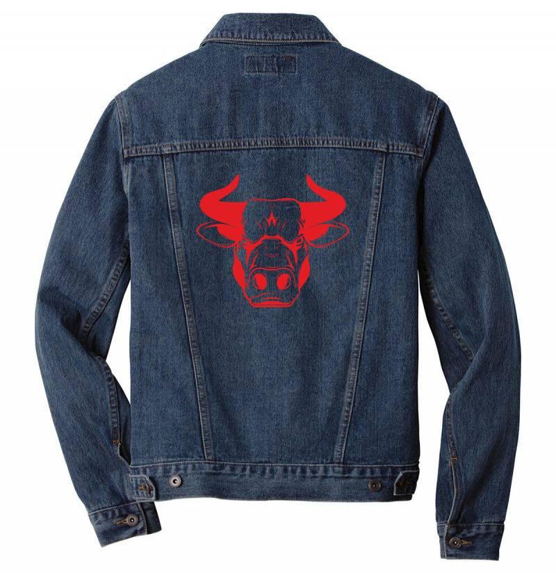 The Bull Men Denim Jacket   Artistshot