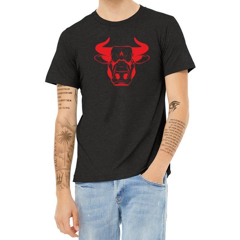 The Bull Heather T-shirt   Artistshot