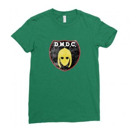 Dmdc Logo Ladies Fitted T-shirt Designed By Ariepjaelanie
