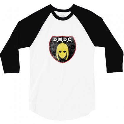 Dmdc Logo 3/4 Sleeve Shirt Designed By Ariepjaelanie