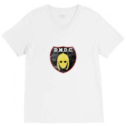 Dmdc Logo V-neck Tee Designed By Ariepjaelanie