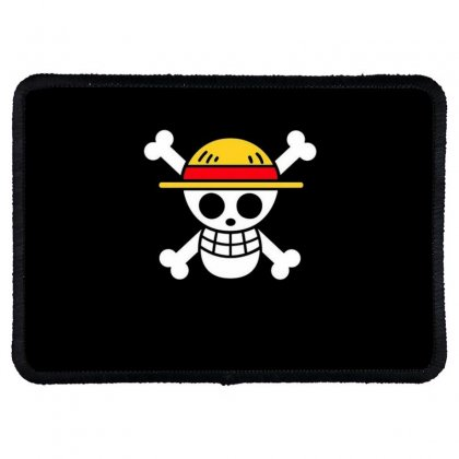 One Piece Flag Rectangle Patch Designed By Acoy