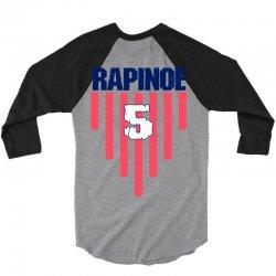 megan rapinoe #15  uswnt 3/4 Sleeve Shirt | Artistshot