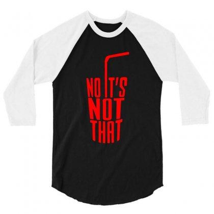 Danny Duncan - No It's No That 3/4 Sleeve Shirt Designed By Dejavu77