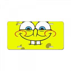 Spanch Bob License Plate | Artistshot