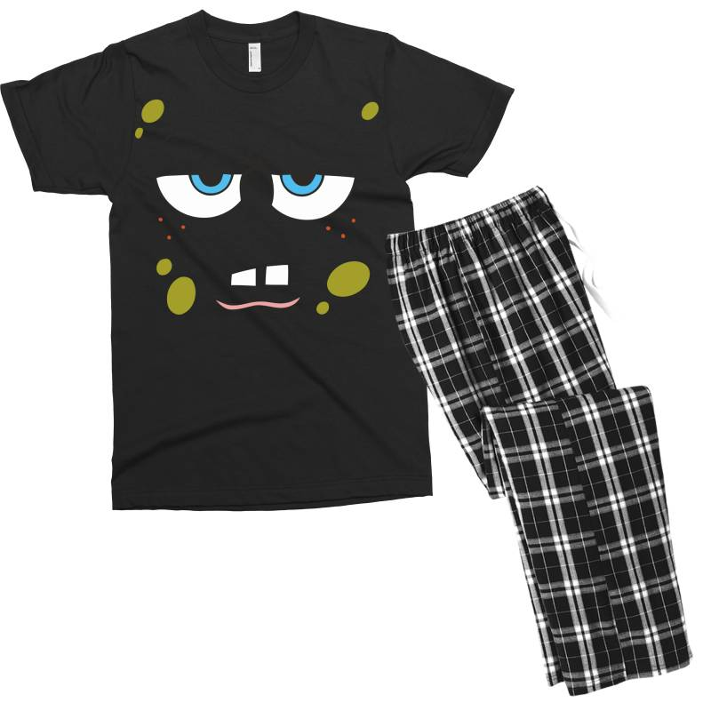 Spanch Bob Men's T-shirt Pajama Set   Artistshot