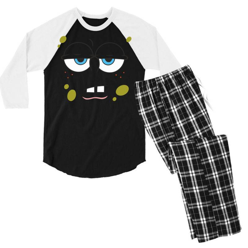 Spanch Bob Men's 3/4 Sleeve Pajama Set | Artistshot