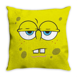 Spanch Bob Throw Pillow | Artistshot
