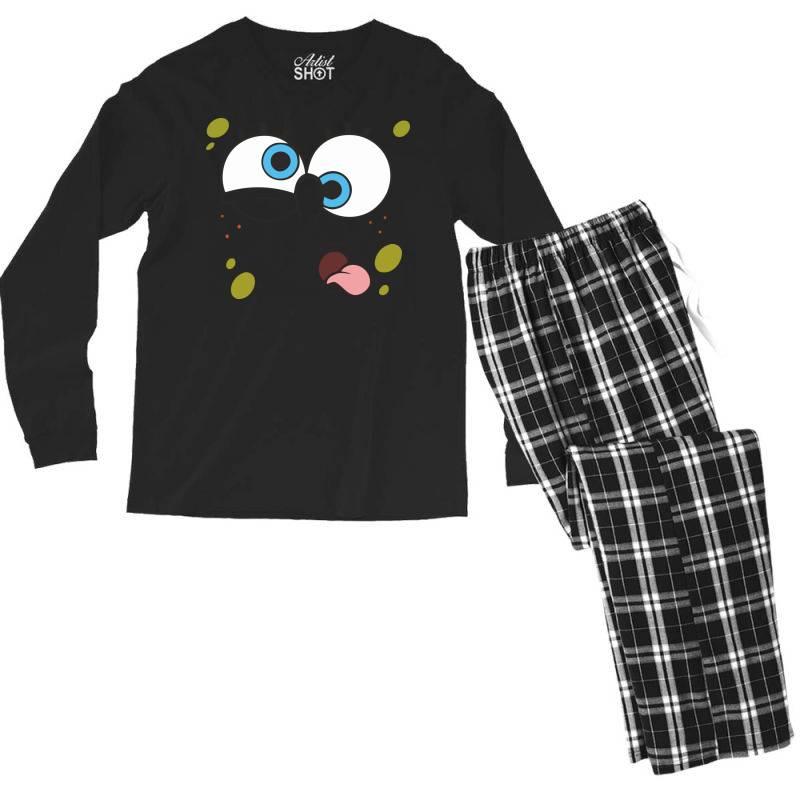Spanch Bob Men's Long Sleeve Pajama Set | Artistshot