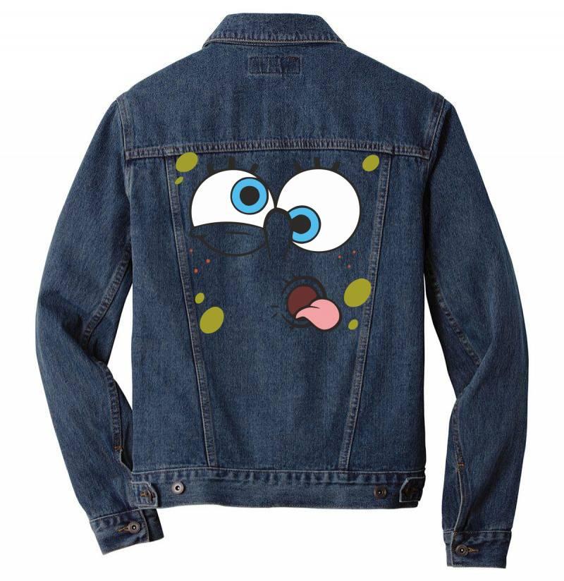 Spanch Bob Men Denim Jacket | Artistshot