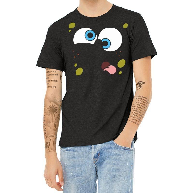 Spanch Bob Heather T-shirt   Artistshot
