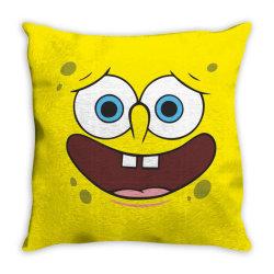Spanch Bob Throw Pillow | Artistshot