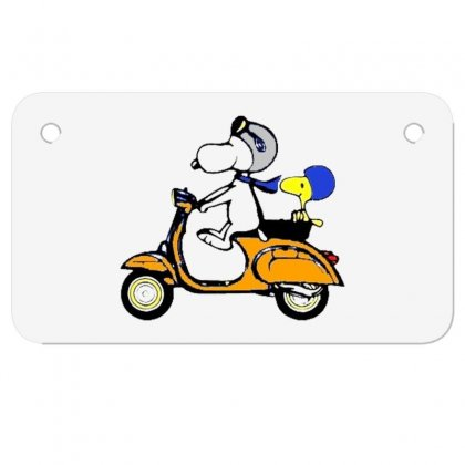 Snoopy Motorcycle Motorcycle License Plate Designed By Rakuzan
