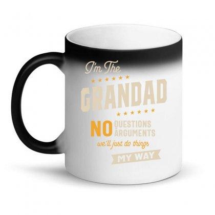 Grandad Way Funny Grandpa Father's Day Magic Mug Designed By Cidolopez