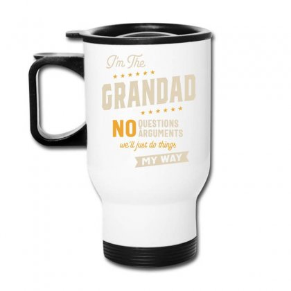 Grandad Way Funny Grandpa Father's Day Travel Mug Designed By Cidolopez