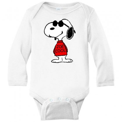 Joe Cool Long Sleeve Baby Bodysuit Designed By Rakuzan